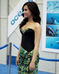 """Oceans"" PremiereDemi Lovato4-17-2010 / El Capitan Theater / Los Angeles CA / Walt Disney Studios / Photo by Annabel Park - Image 23920_0158"