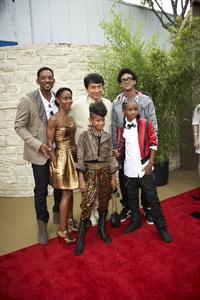 """""""The Karate Kid"""" (Premiere)Will Smith, Jada Pinkett Smith, Jackie Chan, Trey Smith, Willow Smith, Jaden Smith6-7-2010 / Mann"""