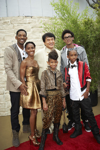 """The Karate Kid"" (Premiere)Will Smith, Jada Pinkett Smith, Jackie Chan, Trey Smith, Willow Smith, Jaden Smith6-7-2010 / Mann"