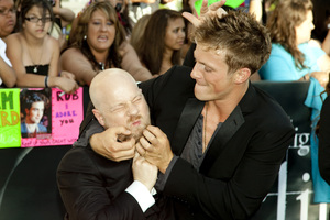 """""""The Twilight Saga: Eclipse"""" Premiere Director David Slade, Charlie Bewley6-24-2010 / Nokia Theater at L.A. Live / Los Angeles CA / Summit Entertainment / Photo by Annabel Park - Image 23941_0033"""