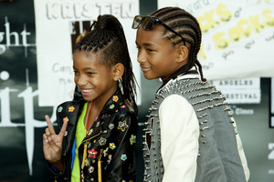 """""""The Twilight Saga: Eclipse"""" Premiere Willow Smith, Jaden Smith 6-24-2010 / Nokia Theater at L.A. Live / Los Angeles CA / Summit Entertainment / Photo by Annabel Park - Image 23941_0054"""