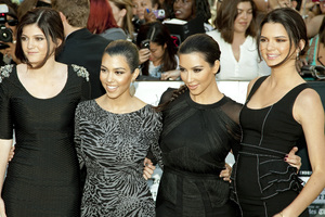 """The Twilight Saga: Eclipse"" Premiere Kylie Jenner, Kourtney Kardashian, Kim Kardashian, Kendall Jenner6-24-2010 / Nokia Theater at L.A. Live / Los Angeles CA / Summit Entertainment / Photo by Annabel Park - Image 23941_0077"