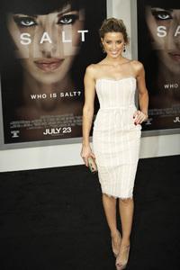 """Salt"" Premiere Amber Heard7-19-2010 / Grauman"
