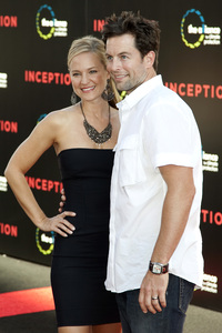 """""""Inception"""" Premiere Michael Muhney and Sharon Case7-13-2010 / Grauman"""