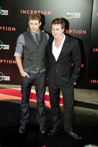 """Inception"" Premiere Kellan Lutz and Richard Reid7-13-2010 / Grauman"