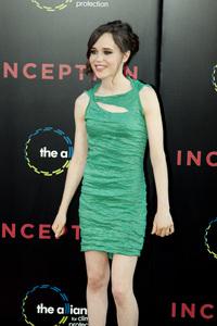 """Inception"" Premiere Ellen Page7-13-2010 / Grauman"