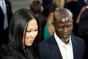 """""""Inception"""" Premiere Kimora Lee Simmons, Djimon Hounsou7-13-2010 / Grauman"""