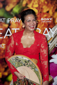 """Eat Pray Love"" Premiere Christine Hakim8-10-2010 / Ziegfeld Theater / New York NY / Columbia Pictures / Photo by Lauren Krohn - Image 23957_0122"