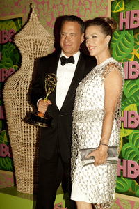 """HBO Post Emmy Party"" Tom Hanks, Rita Wilson8-29-2010 / The Plaza at the Pacific Desighn Center / Hollywood CA / HBO / Photo by Annabel Park - Image 23964_0111"