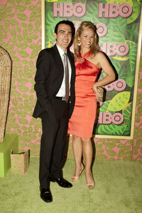 """""""HBO Post Emmy Party"""" Patrick Fischler, Lauren Bowles8-29-2010 / The Plaza at the Pacific Desighn Center / Hollywood CA / HBO / Photo by Annabel Park - Image 23964_0209"""