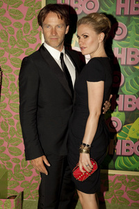 """HBO Post Emmy Party"" Anna Paquin, Stephen Moyer8-29-2010 / The Plaza at the Pacific Desighn Center / Hollywood CA / HBO / Photo by Annabel Park - Image 23964_0269"