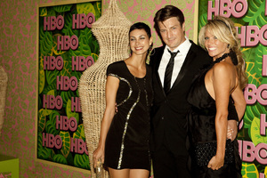 """""""HBO Post Emmy Party"""" Morena Baccarin, Nathan Fillion8-29-2010 / The Plaza at the Pacific Desighn Center / Hollywood CA / HBO / Photo by Annabel Park - Image 23964_0289"""