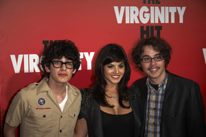 """The Virginity Hit"" Premiere Matt Bennett, Sunny Leone, Justin Kline 9-7-2010 / Regal Cinemas - LA Live / Los Angeles CA / Sony Pictures / Photo by Benny Haddad - Image 23969_0053"