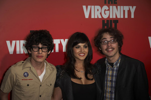 """The Virginity Hit"" Premiere Matt Bennett, Sunny Leone, Justin Kline 9-7-2010 / Regal Cinemas - LA Live / Los Angeles CA / Sony Pictures / Photo by Benny Haddad - Image 23969_0054"