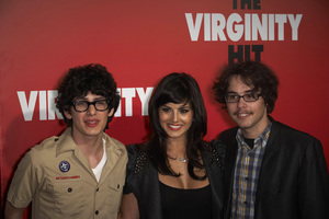"""The Virginity Hit"" Premiere Matt Bennett, Sunny Leone, Justin Kline 9-7-2010 / Regal Cinemas - LA Live / Los Angeles CA / Sony Pictures / Photo by Benny Haddad - Image 23969_0055"