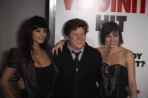 """""""The Virginity Hit"""" Premiere Sunny Leone, Zach Pearlman, Krysta Rodriguez 9-7-2010 / Regal Cinemas - LA Live / Los Angeles CA / Sony Pictures / Photo by Benny Haddad - Image 23969_0061"""