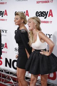 """""""Easy A"""" Premiere Alyson Michalka, AJ Michalka9-13-2010 / Grauman"""