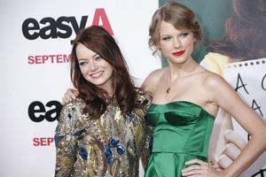 """Easy A"" Premiere Emma Stone, Taylor Swift9-13-2010 / Grauman"