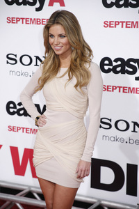 """Easy A"" Premiere Amber Lancaster9-13-2010 / Grauman"