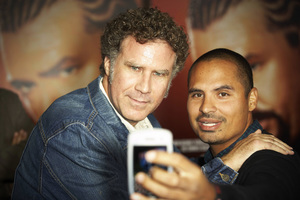 """""""East Bound & Down"""" PremiereWill Ferrell and Michael Pena9-16-2010 / The Paramount Theater / Hollywood CA / HBO / Photo by Benny Haddad - Image 23974_0077"""