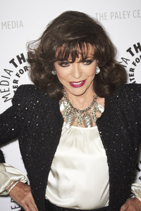 """""""Rules of Engagement Panel at The Paley Center"""" Joan Collins11-4-2010 / The Paley Center for Media / Beverly Hills CA / Photo by Benny Haddad - Image 23988_0044"""