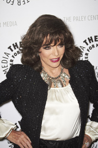 """""""Rules of Engagement Panel at The Paley Center"""" Joan Collins11-4-2010 / The Paley Center for Media / Beverly Hills CA / Photo by Benny Haddad - Image 23988_0045"""