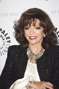 """""""Rules of Engagement Panel at The Paley Center"""" Joan Collins11-4-2010 / The Paley Center for Media / Beverly Hills CA / Photo by Benny Haddad - Image 23988_0046"""