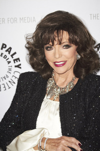 """""""Rules of Engagement Panel at The Paley Center"""" Joan Collins11-4-2010 / The Paley Center for Media / Beverly Hills CA / Photo by Benny Haddad - Image 23988_0047"""