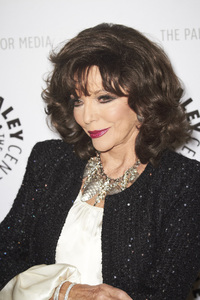 """""""Rules of Engagement Panel at The Paley Center"""" Joan Collins11-4-2010 / The Paley Center for Media / Beverly Hills CA / Photo by Benny Haddad - Image 23988_0048"""