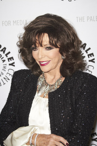 """""""Rules of Engagement Panel at The Paley Center"""" Joan Collins11-4-2010 / The Paley Center for Media / Beverly Hills CA / Photo by Benny Haddad - Image 23988_0052"""