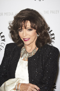"""""""Rules of Engagement Panel at The Paley Center"""" Joan Collins11-4-2010 / The Paley Center for Media / Beverly Hills CA / Photo by Benny Haddad - Image 23988_0053"""