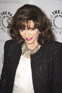 """""""Rules of Engagement Panel at The Paley Center"""" Joan Collins11-4-2010 / The Paley Center for Media / Beverly Hills CA / Photo by Benny Haddad - Image 23988_0056"""