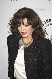 """""""Rules of Engagement Panel at The Paley Center"""" Joan Collins11-4-2010 / The Paley Center for Media / Beverly Hills CA / Photo by Benny Haddad - Image 23988_0059"""