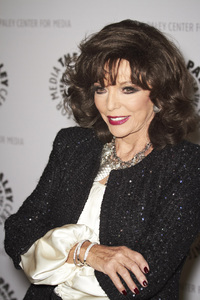 """""""Rules of Engagement Panel at The Paley Center"""" Joan Collins11-4-2010 / The Paley Center for Media / Beverly Hills CA / Photo by Benny Haddad - Image 23988_0060"""