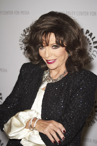 """""""Rules of Engagement Panel at The Paley Center"""" Joan Collins11-4-2010 / The Paley Center for Media / Beverly Hills CA / Photo by Benny Haddad - Image 23988_0061"""