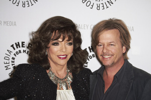 """""""Rules of Engagement Panel at The Paley Center"""" Joan Collins and David Spade11-4-2010 / The Paley Center for Media / Beverly Hills CA / Photo by Benny Haddad - Image 23988_0133"""