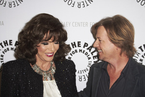 """""""Rules of Engagement Panel at The Paley Center"""" Joan Collins and David Spade11-4-2010 / The Paley Center for Media / Beverly Hills CA / Photo by Benny Haddad - Image 23988_0139"""