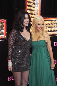 """Burlesque"" PremiereCher, Christina Aguilera11-15-2010 / Grauman"