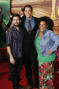 """Tangled"" PremiereZachary Levi, Josh Gomez and Yvette Nicole Brown11-14-2010 / El Capitan Theater / Hollywood CA / Walt Disney Pictures / Photo by Eleonora Ghioldi - Image 23991_0185"