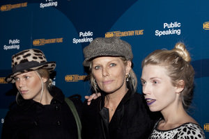 """Public Speaking"" PremiereAlexandra Richards, Patti Hanson and Theodora Richards11-15-2010 / The Museum of Modern Art / New York NY / HBO / Photo by Lauren Krohn - Image 23992_0199"
