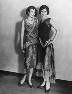 Marie Deauville (right)circa 1920s** Sheryl Deauville Collection - Image 24002_0003
