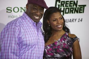 """The Green Hornet"" PremiereMichael Clarke Duncan, Omarosa Manigault-Stallworth1-10-2011 / Grauman"