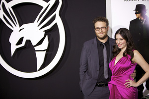 """""""The Green Hornet"""" PremiereSeth Rogen, Lauren Miller1-10-2011 / Grauman"""
