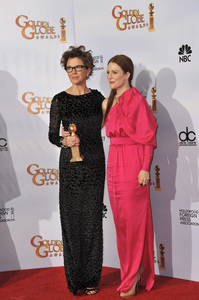 """The Golden Globe Awards - 68th Annual"" (Press Room)Annette Bening, Julianne Moore1-16-2011 © 2011 Jean Cummings - Image 24010_0339"