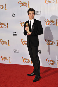 """The Golden Globe Awards - 68th Annual"" (Press Room)Chris Colfer1-16-2011 © 2011 Jean Cummings - Image 24010_0343"
