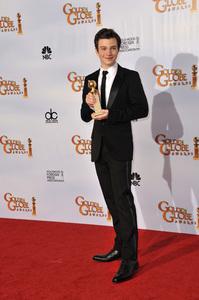 """The Golden Globe Awards - 68th Annual"" (Press Room)Chris Colfer1-16-2011 © 2011 Jean Cummings - Image 24010_0343"