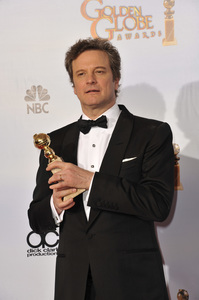 """The Golden Globe Awards - 68th Annual"" (Press Room)Colin Firth1-16-2011 © 2011 Jean Cummings - Image 24010_0352"