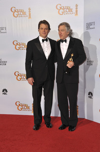 """The Golden Globe Awards - 68th Annual"" (Press Room)Matt Damon, Robert De Niro1-16-2011 © 2011 Jean Cummings - Image 24010_0354"