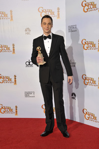 """The Golden Globe Awards - 68th Annual"" (Press Room)Jim Parsons1-16-2011 © 2011 Jean Cummings - Image 24010_0364"