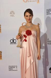 """The Golden Globe Awards - 68th Annual"" (Press Room)Natalie Portman1-16-2011 © 2011 Jean Cummings - Image 24010_0378"